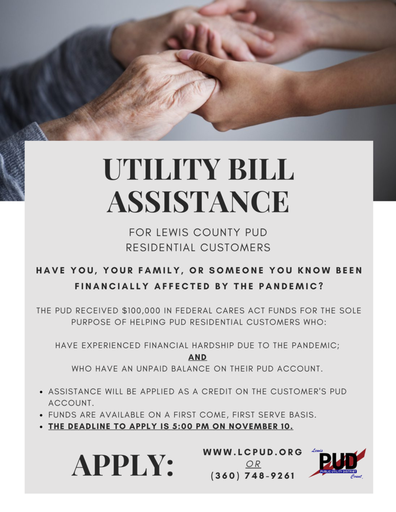 Calling ALL Families, Utility Bill Assistance Available!