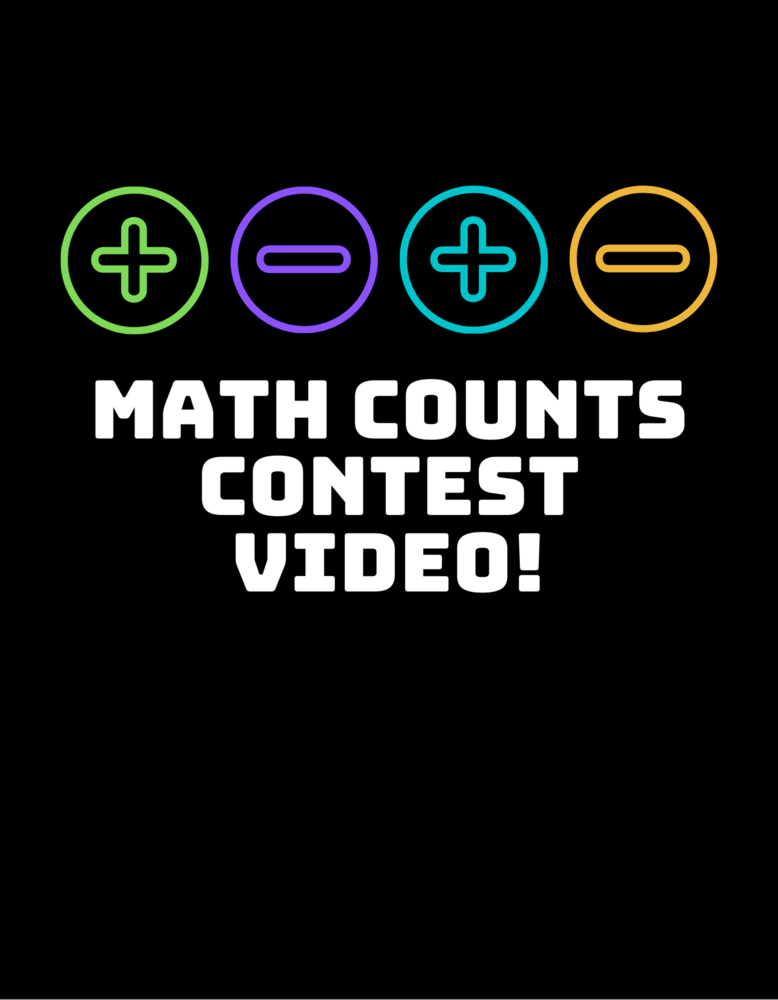 WMS GIRLS COMPETE IN MATH COUNTS VIDEO CONTEST!