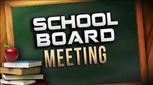 August 13th 6 pm School Board Meeting (Virtual)