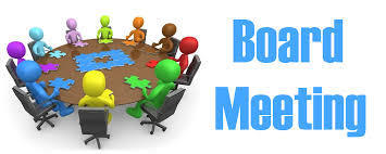 Board Meeting Virtual Invite March 24th 7:00 pm