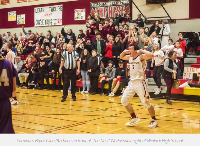 Win over Onalaska! Bryce scores 1,000 career points in HS